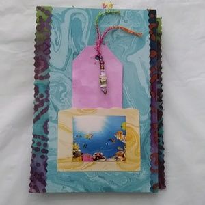 Other - Handmade Junk Journal Under the Sea